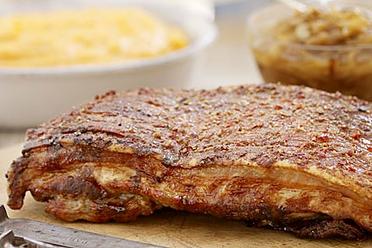 Pork Belly Deboned  / Raw (+/-1.kg)