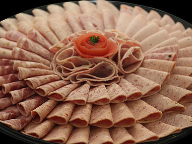 Small Assorted Coldmeat Platter. (Serves 8-10 persons)