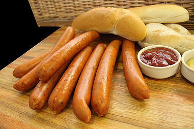 Bacon & Cheese Sausages. (+650g)