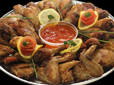 Large Roast Chicken Platter. (Serves 10-15 persons)