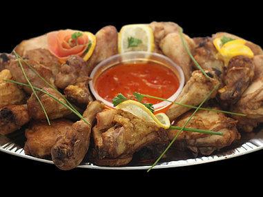 Small Roast Chicken Platter. (Serves 8-10 persons)