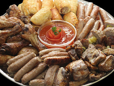 Large Traditional Platter. (serves 10-15 persons)