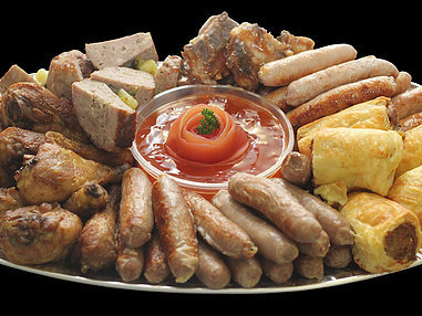 Small Traditional Platter. (serves 10-15 persons)