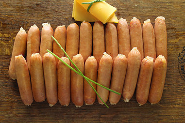 Cheesegriller Cocktail 30gm Sausages.(+/- 650g)