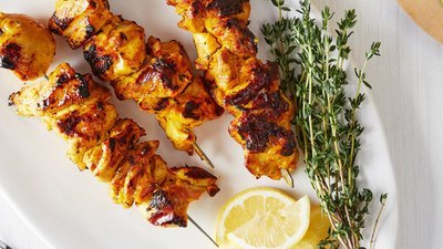 Marinated Chicken Kebabs - Lemon & Herb (+/-740g)