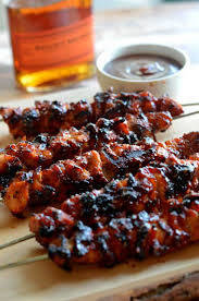 Bacon & Cherry Kebabs - Marinated. (+/-515g)