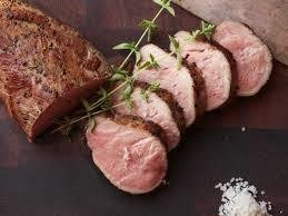 Pork Fillets. raw (+/-1kg) 2 in a portion