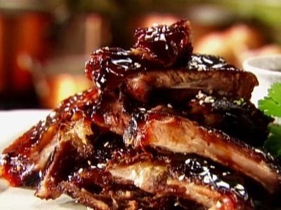Pork Ribs Value Ribs  Marinated in BBQ Sauce.