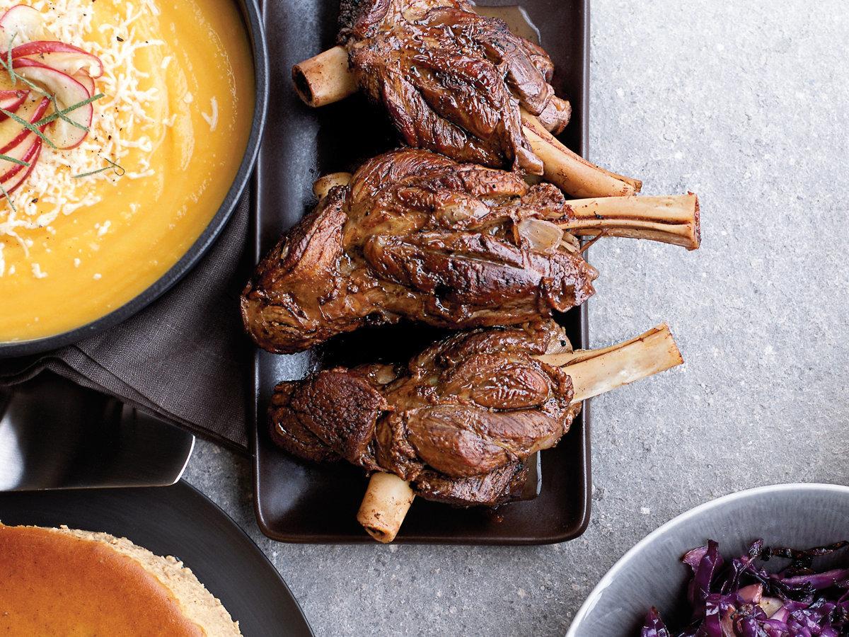 SPECIAL ***Mutton Shanks - Sliced & Frozen (+/-1kg)