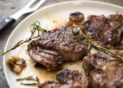 Lamb Chops. Best End 1kg pack