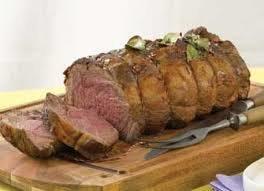 Rolled Beef Topside Roast. (+/-1.5kg) Raw