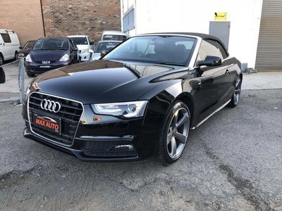 MY13 Audi A5 Convertible