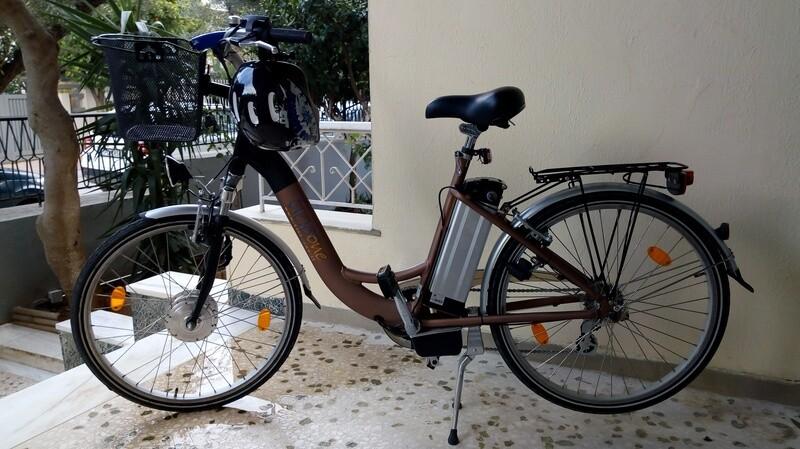 City Bike Sbry6000 e-bike της Cicloone, 250W