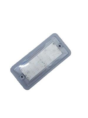LED Interior Light 12V Grey Bezel