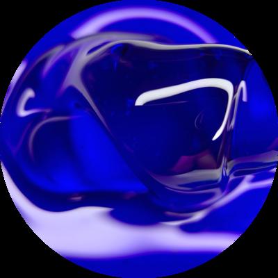 """GLASS GEL """"Ultramarine"""""""
