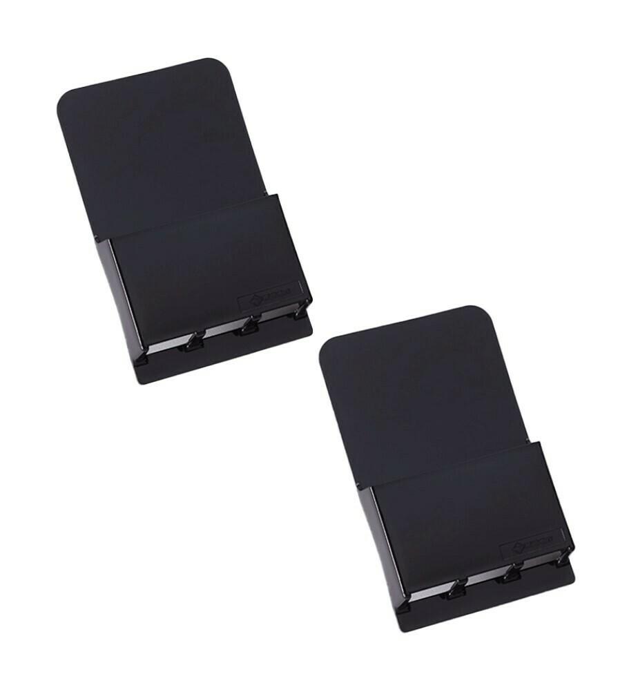 Wallabox® New Design!  2-Pack Set: Midnight Black
