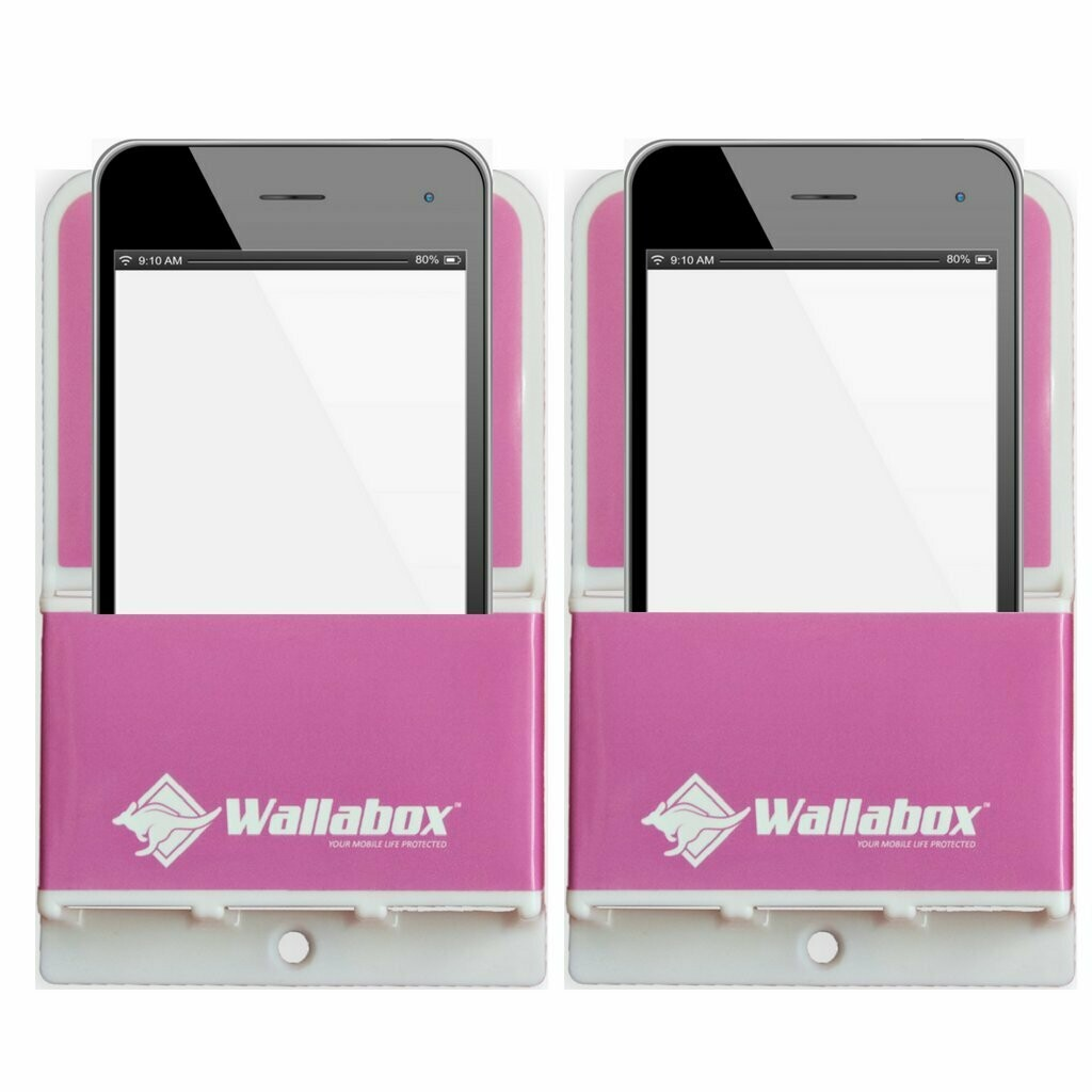 Wallabox® Original 2-Pack SALE: Hot Pink