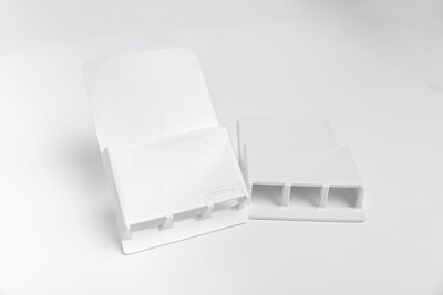 Wallabox® 2-Pack Set with Hook:  White