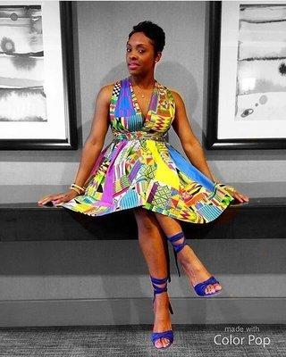 Melanin Monroe Infinity Dress