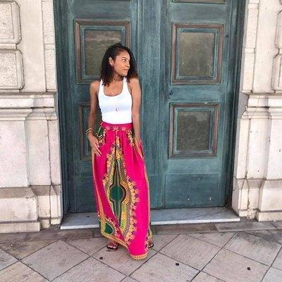 Queen Maxi Skirt