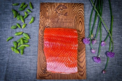 COPPER RIVER WILD ALASKAN SOCKEYE SALMON