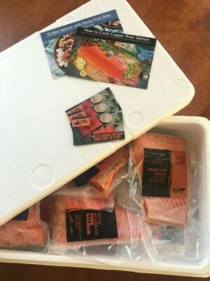 WILD ALASKAN SALMON MIX BOX