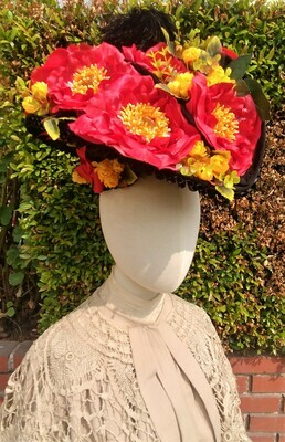 1900s Edwardian Taco Hat Tutorial