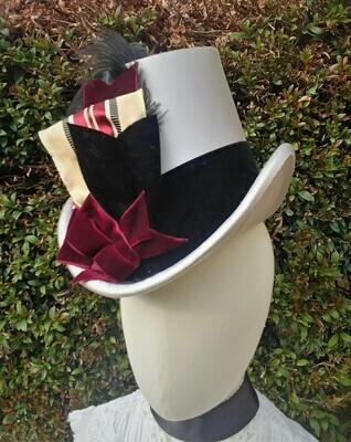 """1886 """"The Garrett"""" Tall Hat"""