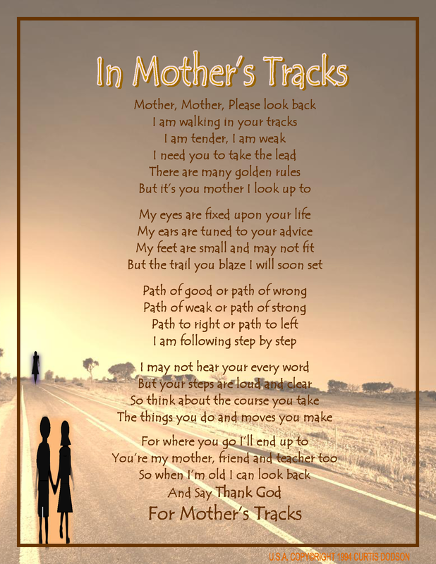 In Mother's Track