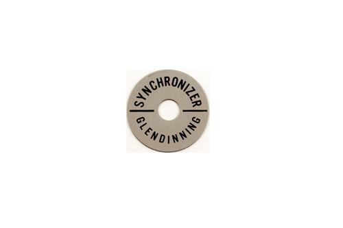 Synchronizer Name Plate