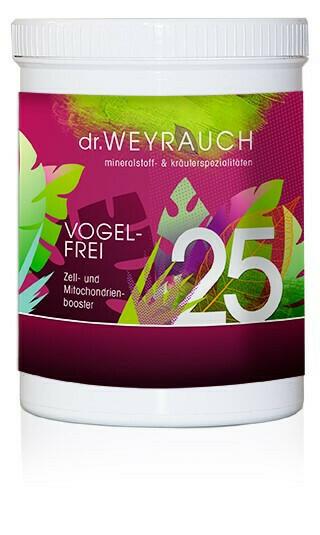 Neu:Dr.Weyrauch Vogelfrei Nr.25Pulver
