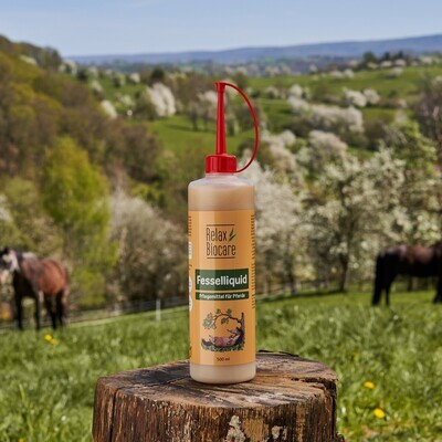 RelaxBiocare-Fesselliquid für Pferde