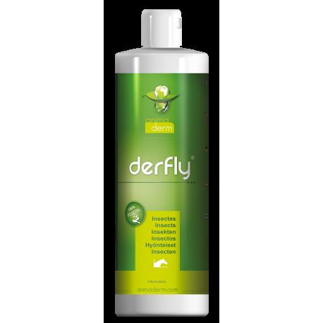 Derfly, Lotion gegen Fliegen