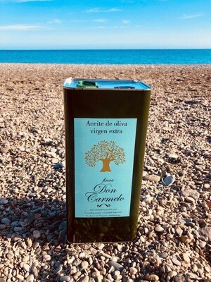 Bio Extra Virgin Olijfolie/Organic Olive Oil unfiltered - Blik/Tin - 3 lit