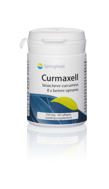 Curmaxell curcumine & Finca Don Carmelo Extra Virgen Olijfolie - 60 softgels