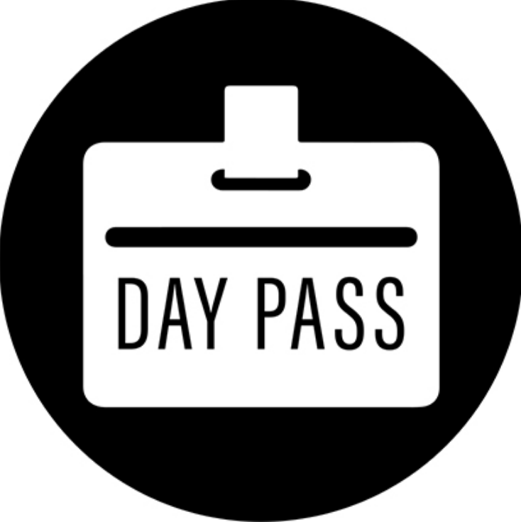 1 Day Pass (purchase online)