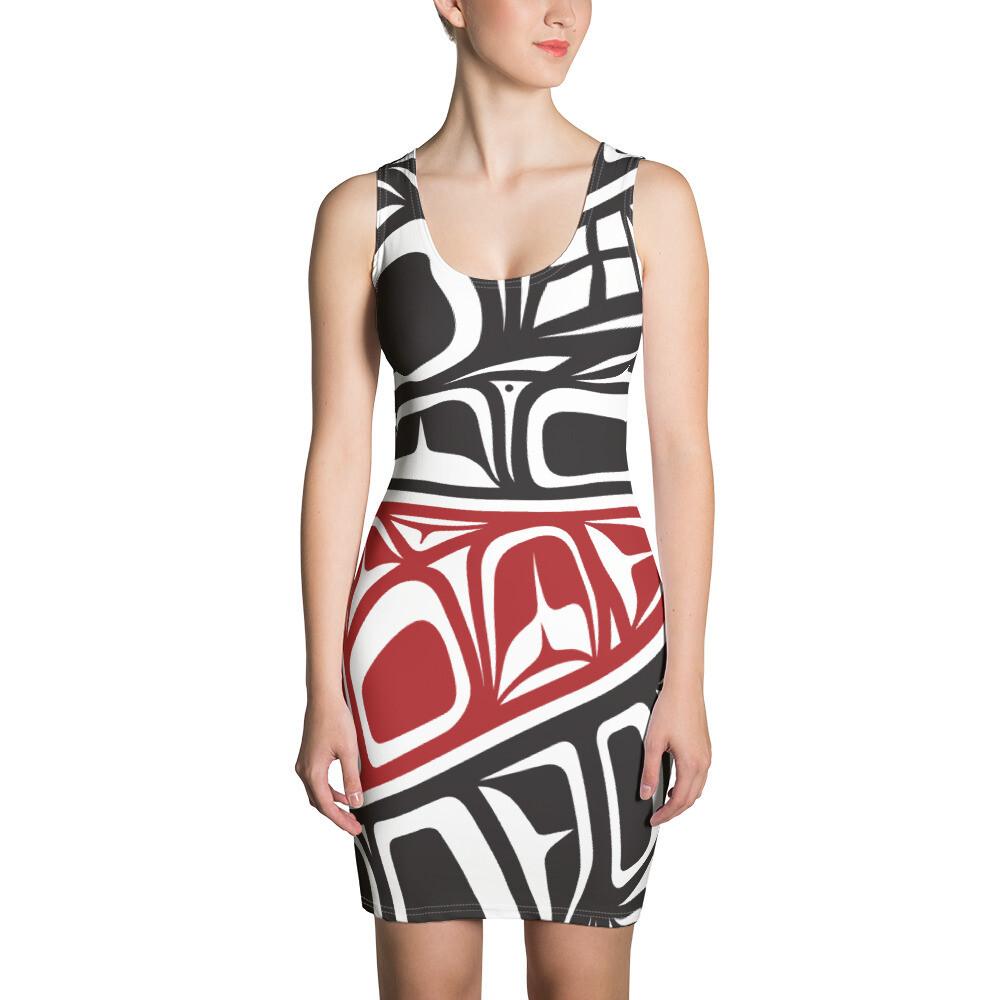 """ Family Strength  "" Design Dress"
