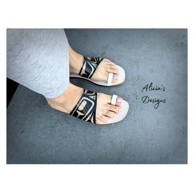 Clear Vinyl Sandals