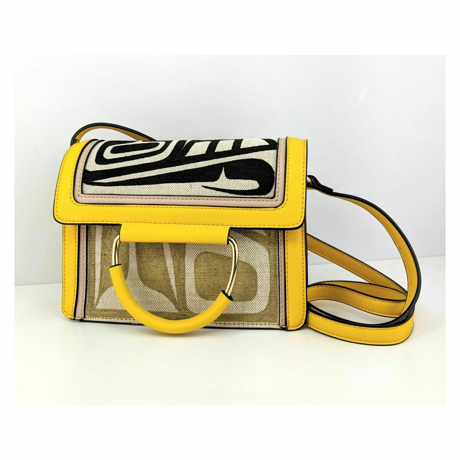 Small Yellow Side Purse