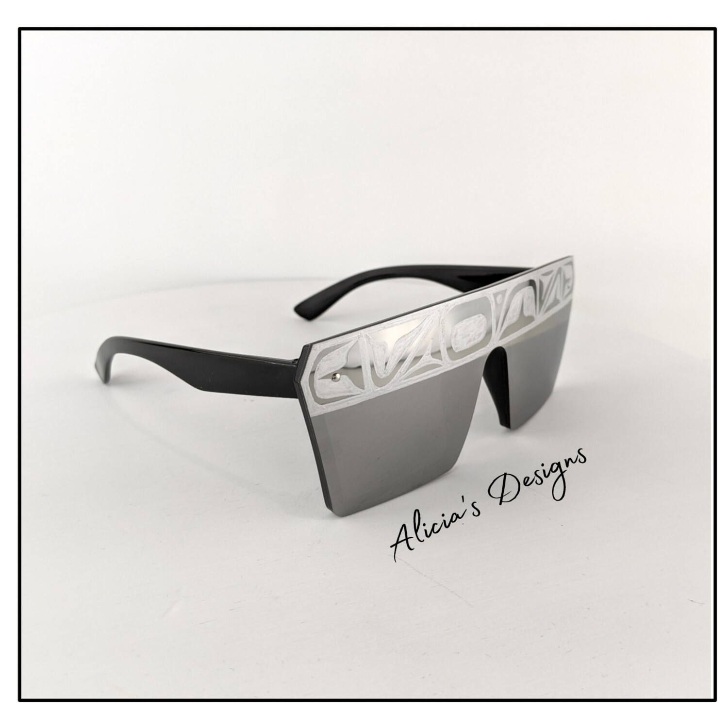 Chrome Mirror Sunglasses