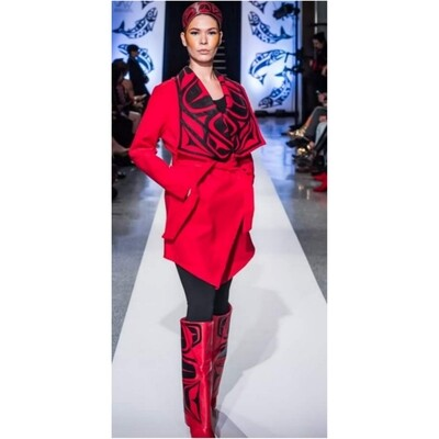 Red Wrap Jacket