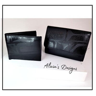 His/hers Matching Wallets
