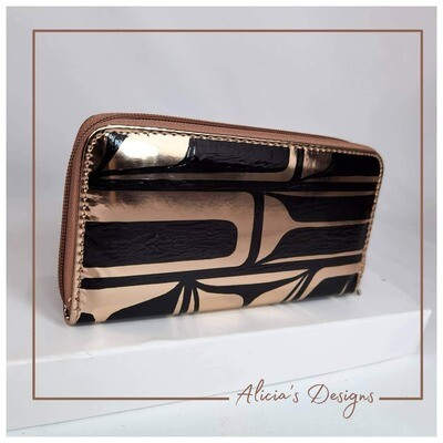 Mirrored Copper Wallet