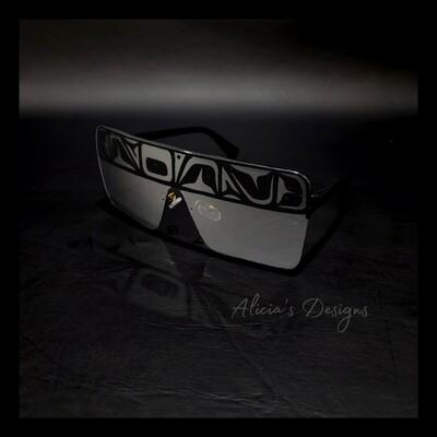 Chrome Mirrored Sunglasses