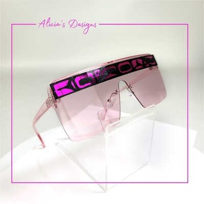 Pink Mosaic Sunglasses