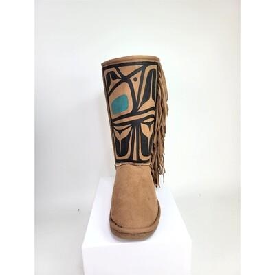 Soft Tassle Boots