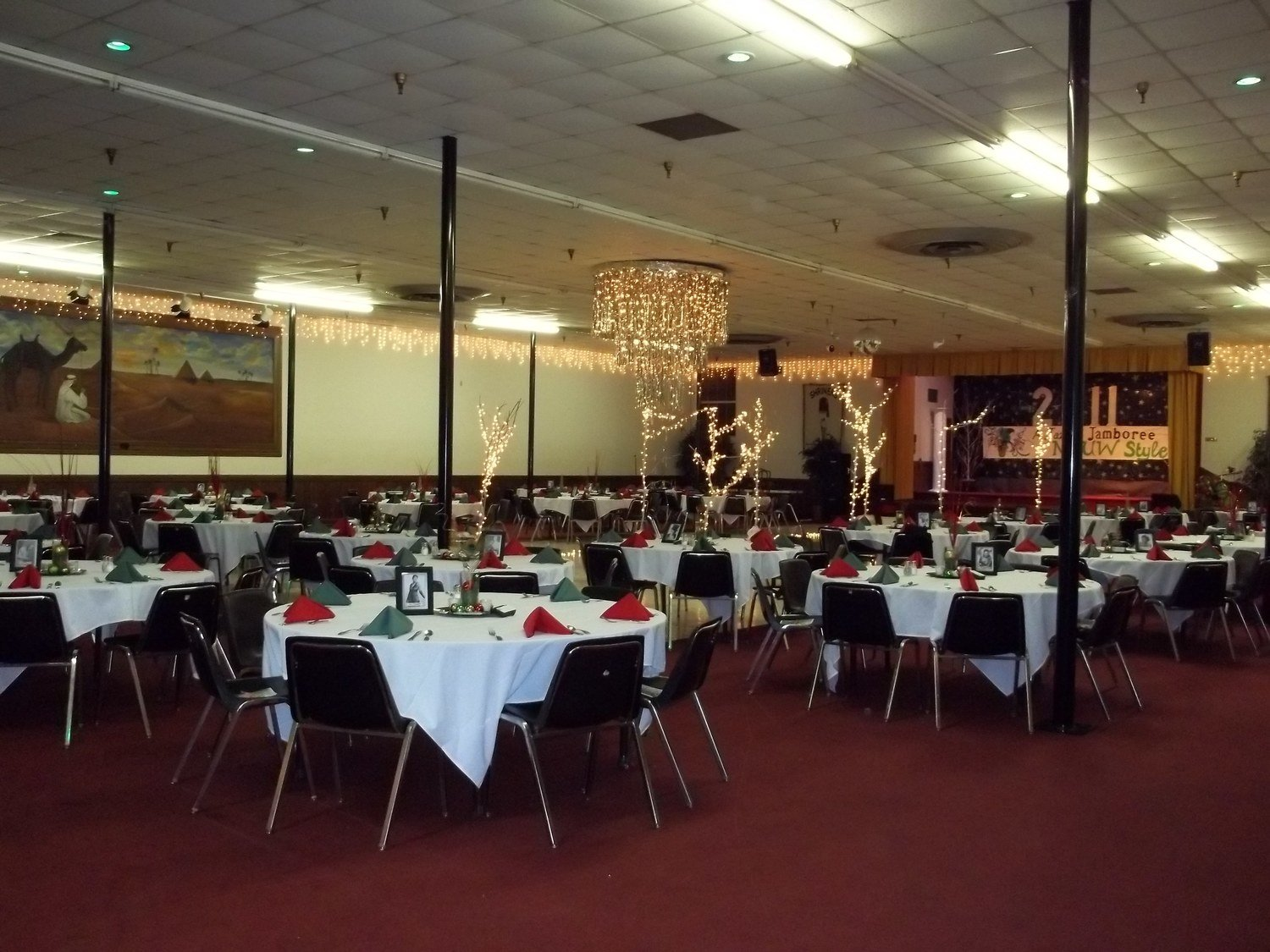Ballroom Rental Deposit $600.00 (contract must be signed before rental)