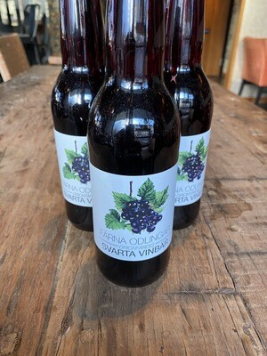 Svarta vinbär 33cl