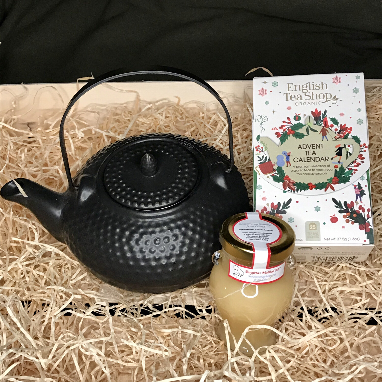 Gå-bort-present TEA PARTY