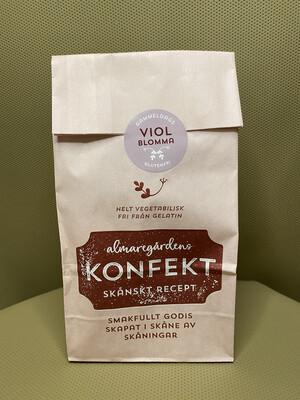 Almaregårdens Godis smak av Viol